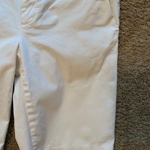 Banana Republic Shorts - Banana Republic White Bermuda Shorts